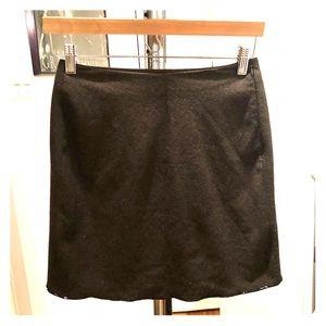 Prada wool mini skirt vintage 1995